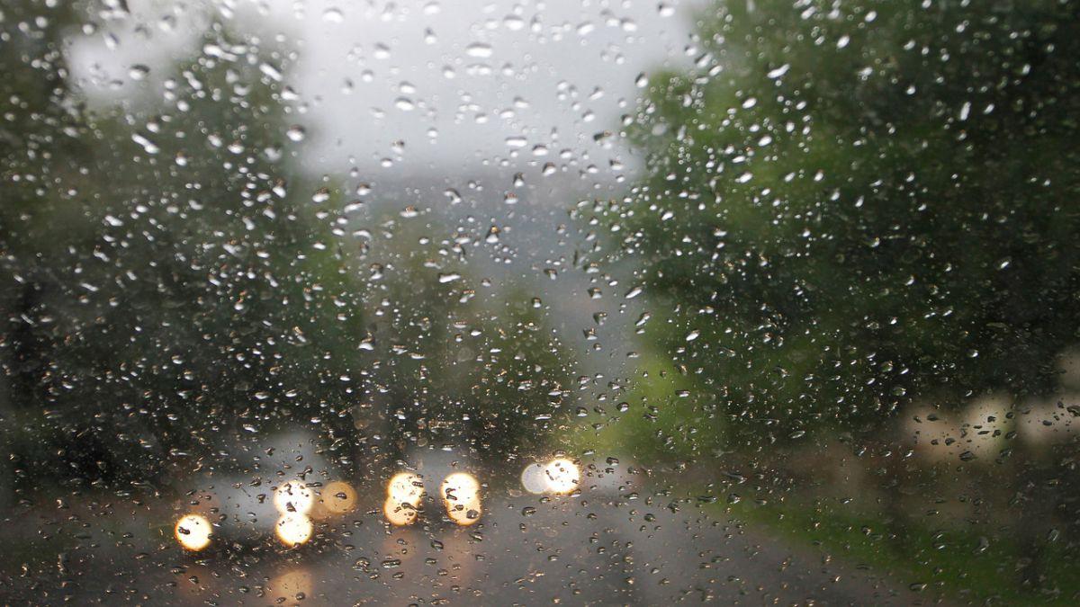 Inusual Lluvia En La Capital Revisa El Pronóstico Del Tiempo Tele 13