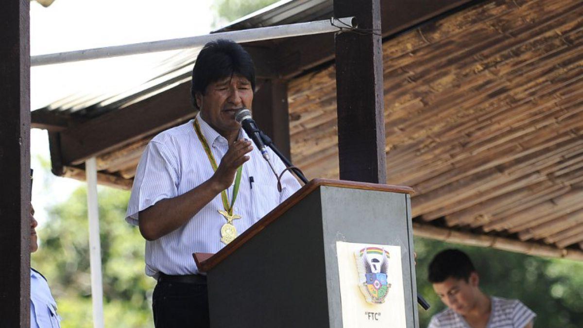 Evo Morales: Los movimiento sociales de Chile apoyan nuestra demanda marítima