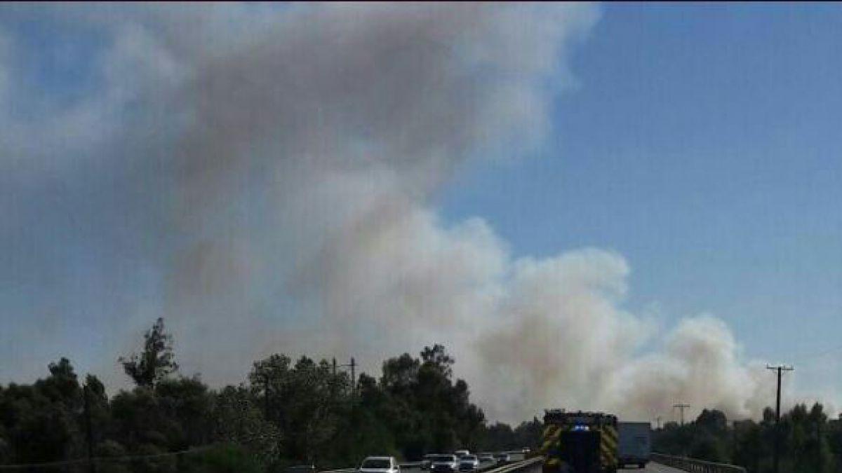 ONEMI declara alerta roja en Chillan Viejo debido a un nuevo Incendio Forestal