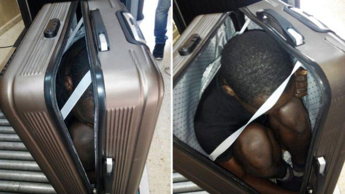 Los inmigrantes africanos que trataron de entrar a España escondidos en una maleta y un auto
