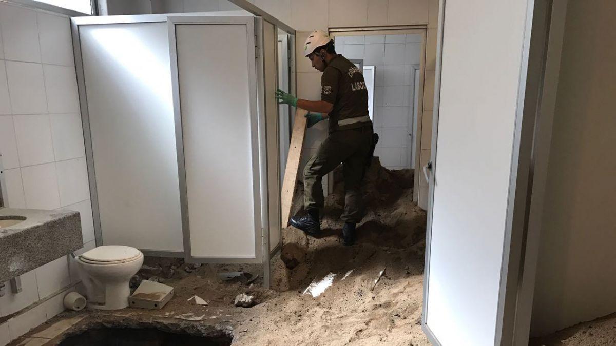 Guardia privado encuentra t nel bajo sucursal del banco bbva tele 13 - Pisos de bancos bbva ...