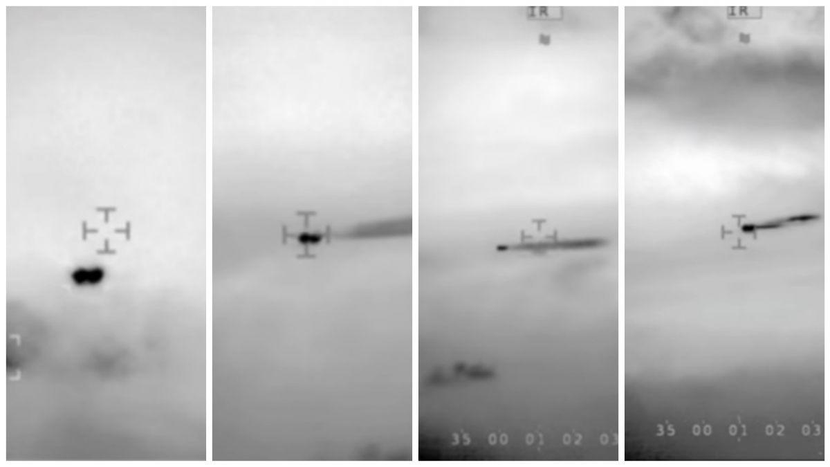 Divulgan video de un OVNI grabado por helicóptero de la Armada de Chile