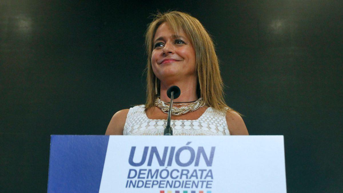 Jacqueline Van Rysselberghe es reelecta como presidenta de la UDI