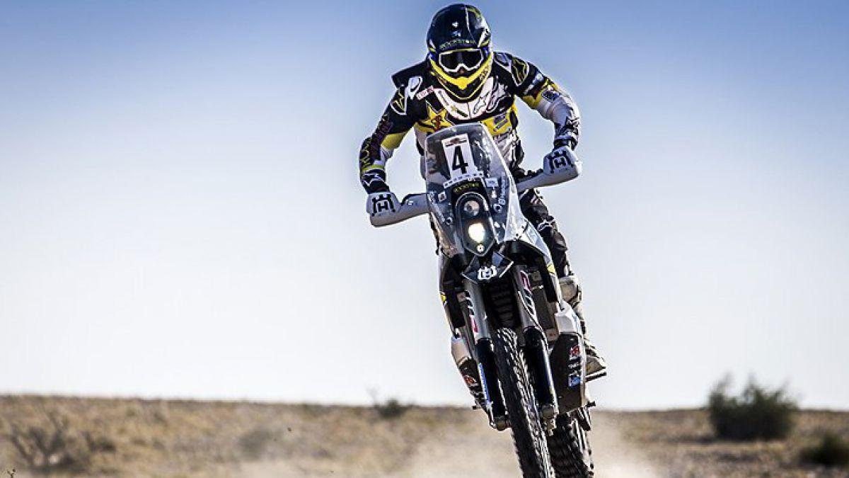 Gran jornada de Pablo Quintanilla en el Abu Dhabi Desert Challenge y ya se ubica en el 2° lugar