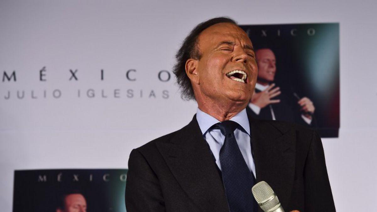 Una prueba de ADN descubre al hijo secreto del cantante Julio Iglesias