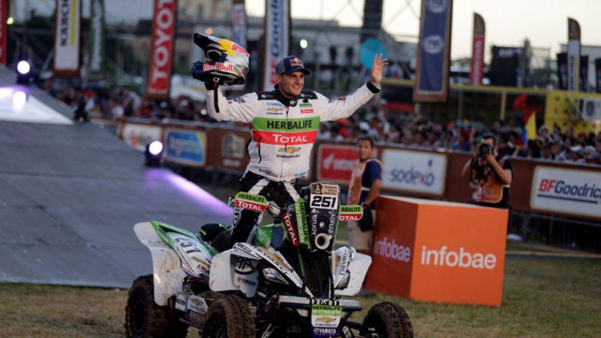 Ignacio Casale gana 8° etapa y regresa al podio en Quads del Rally Dakar