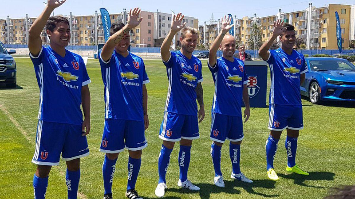 [VIDEO] U. de Chile presenta oficialmente su nueva camiseta para la temporada 2017