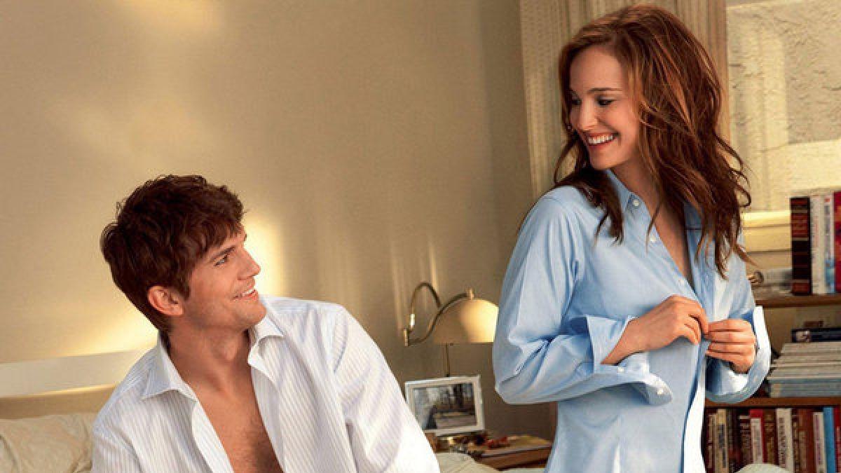 """Natalie Portman y Ashton Kutcher en """"Amigos con derechos"""""""