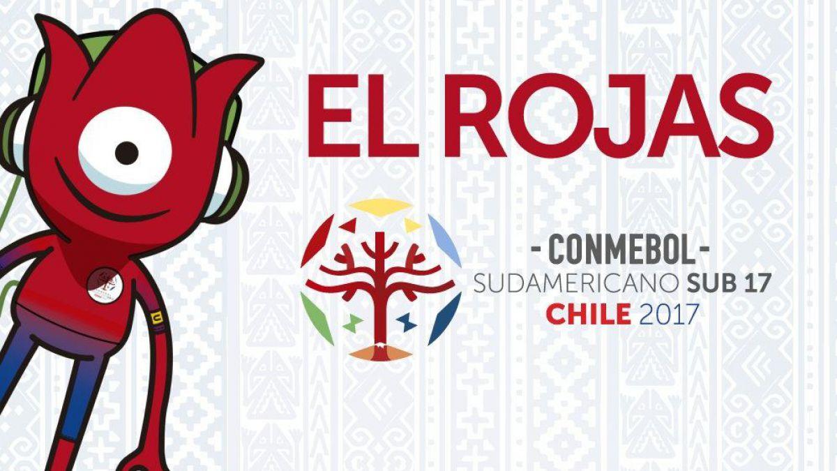 "Conoce a ""El Rojas"": la curiosa mascota del Sudamericano Sub-17 de Chile"