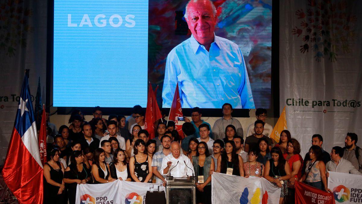 PPD proclama oficialmente a Ricardo Lagos como su candidato presidencial