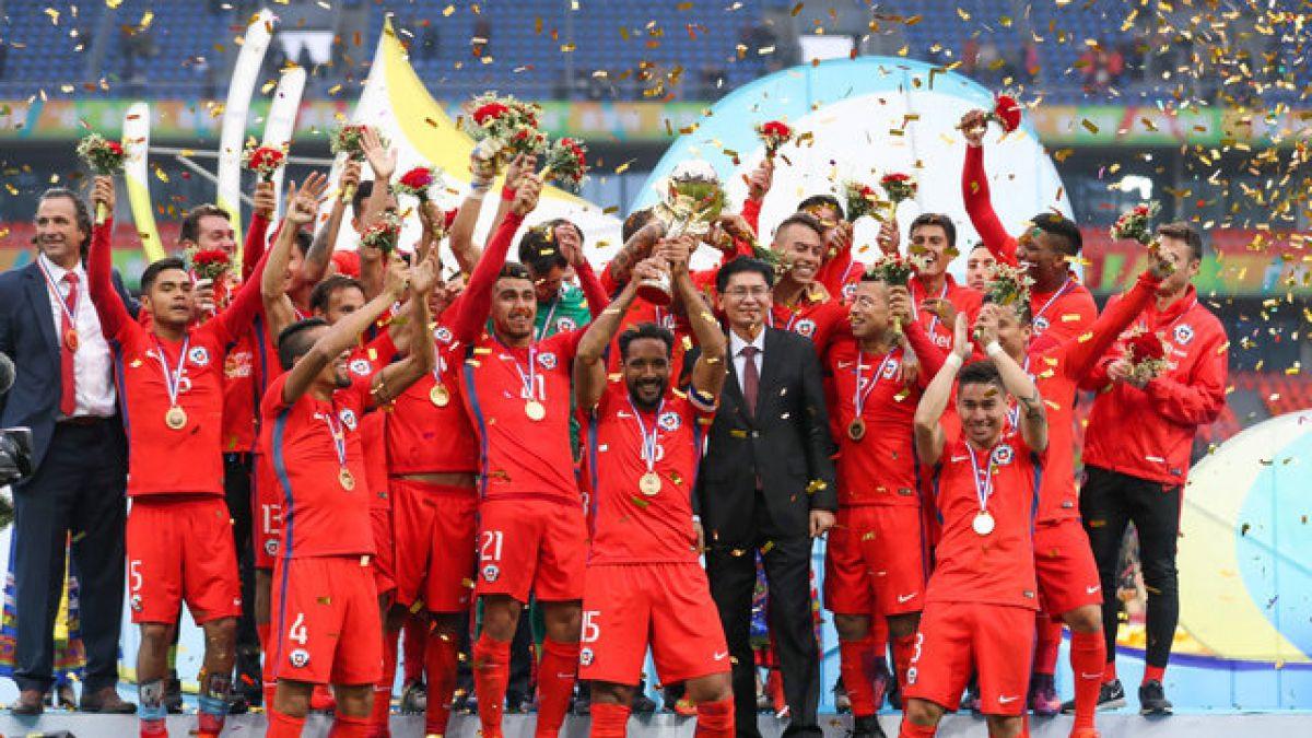 ¡Chile campeón de la China Cup!  Vence a Islandia y se queda con 12ba8e54946ef
