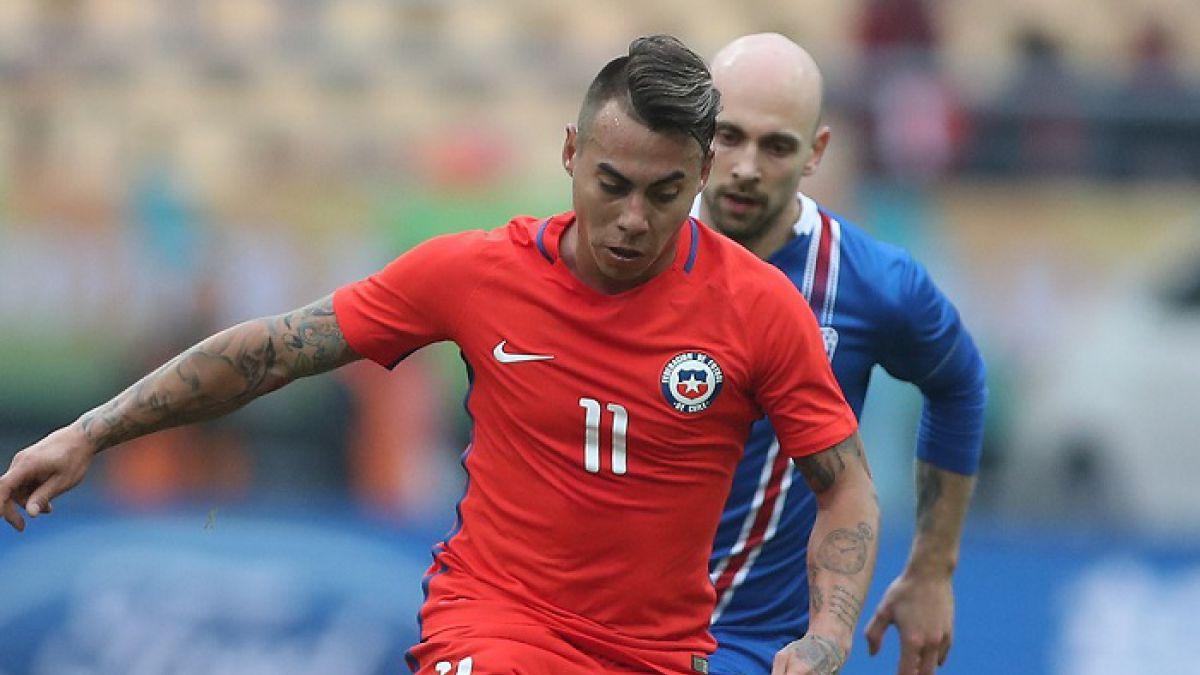 """Eduardo Vargas elegido el """"Mejor jugador"""" de la China Cup: """"Felicitaciones a todo el plantel"""""""