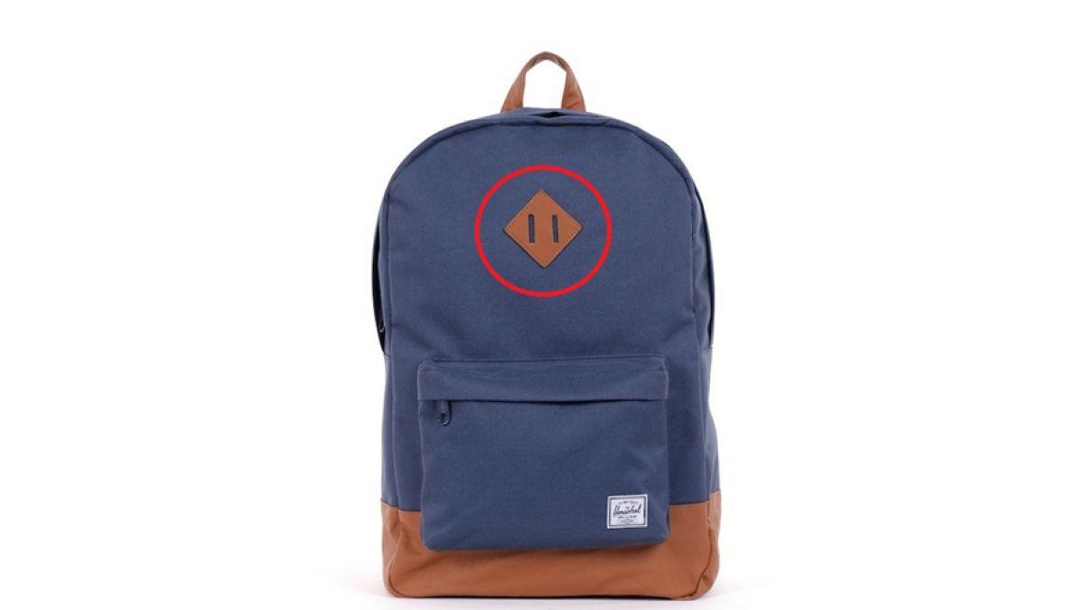 Para qué sirve el cuadrado con ranuras que tienen las mochilas ... f6ac92ced0d