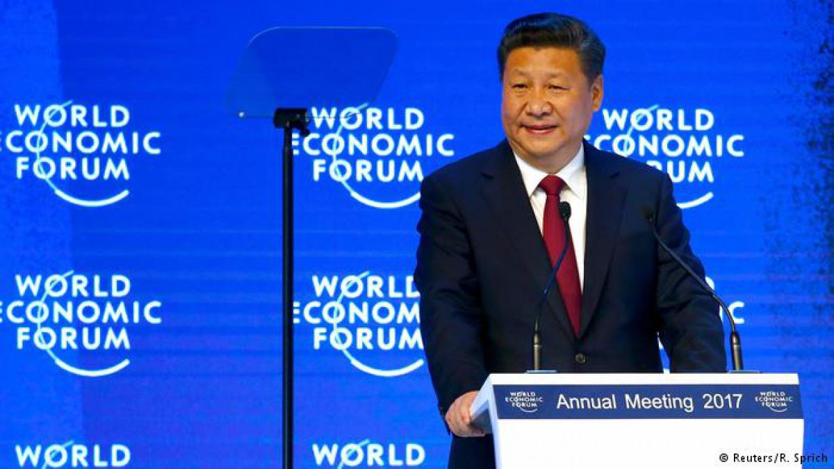 El presidente chino, Xi Jinping prionunció el discurso inaugural del Foro Económico Mundial en Davos.