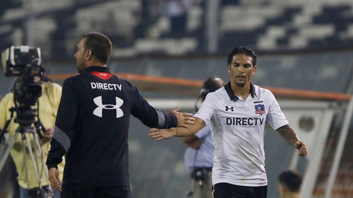 """Mark González tras anotar en su estreno: """"Me siento cada vez mejor en Colo Colo"""""""