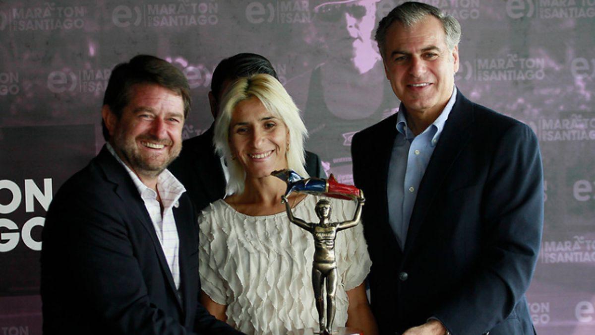 Maratón de Santiago presenta premio Érika Olivera en honor a la atleta