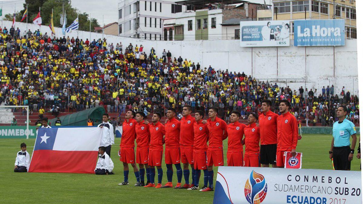 Suramericano Sub 20: Tabla De Posiciones Sudamericano Sub 20 Ecuador 2017