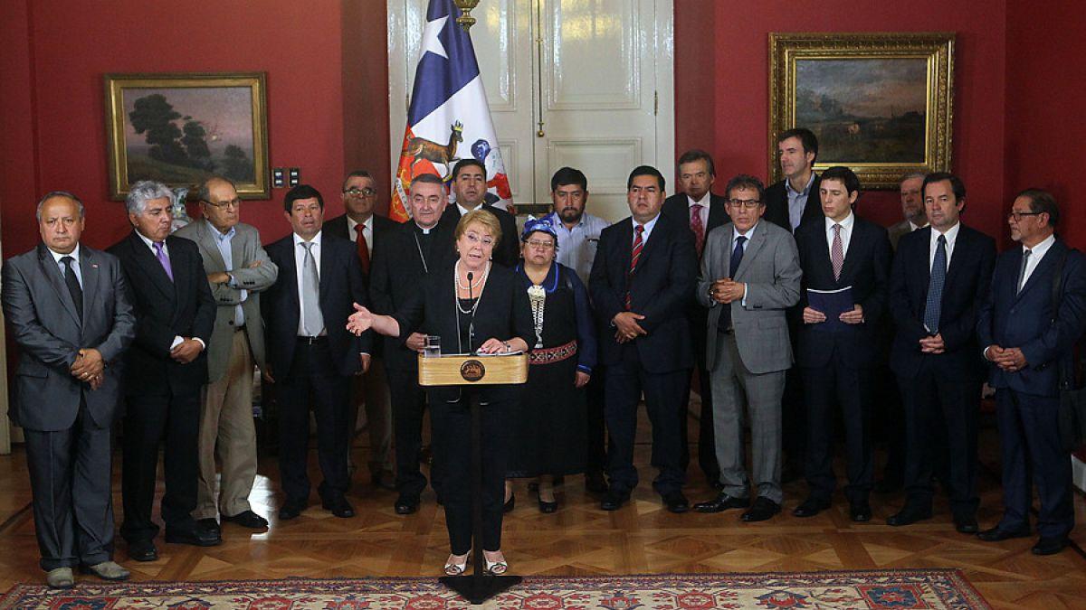 La Araucanía: Bachelet recibió informe de Comisión Asesora