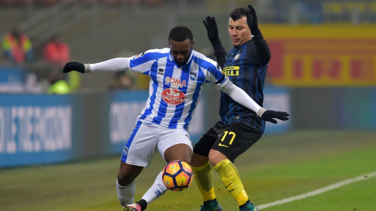 Inter venció sin problemas al Pescara