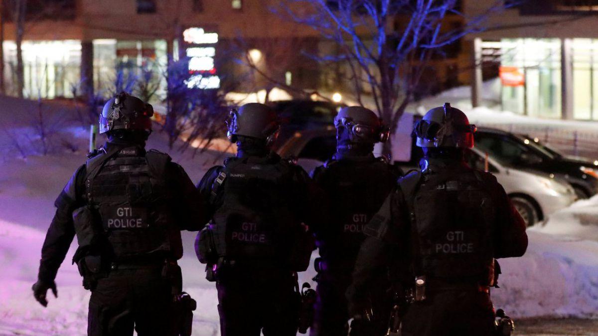 Tiroteo en Canadá: Un sospechoso llamó a policía para entregarse tras ataque a mezquita en Quebec