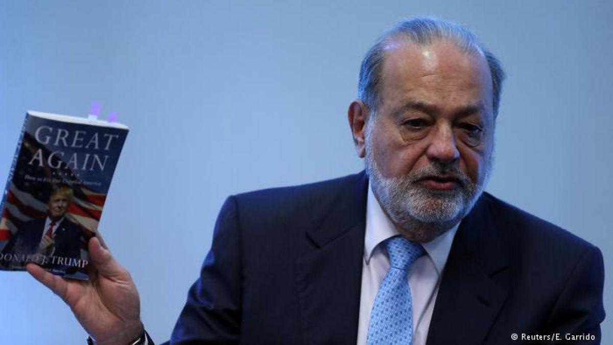 """Carlos Slim: """"La mejor barda es el desarrollo económico"""""""