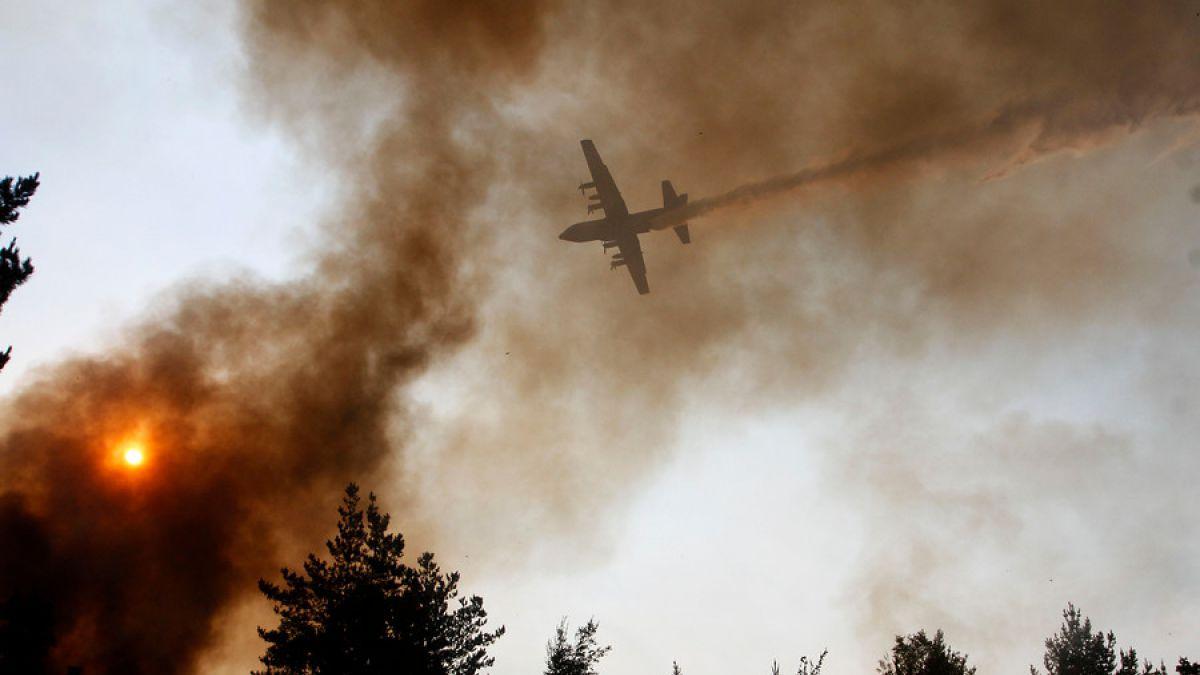 Conaf: Incendios forestales tuvieron un costo de $17 mil millones