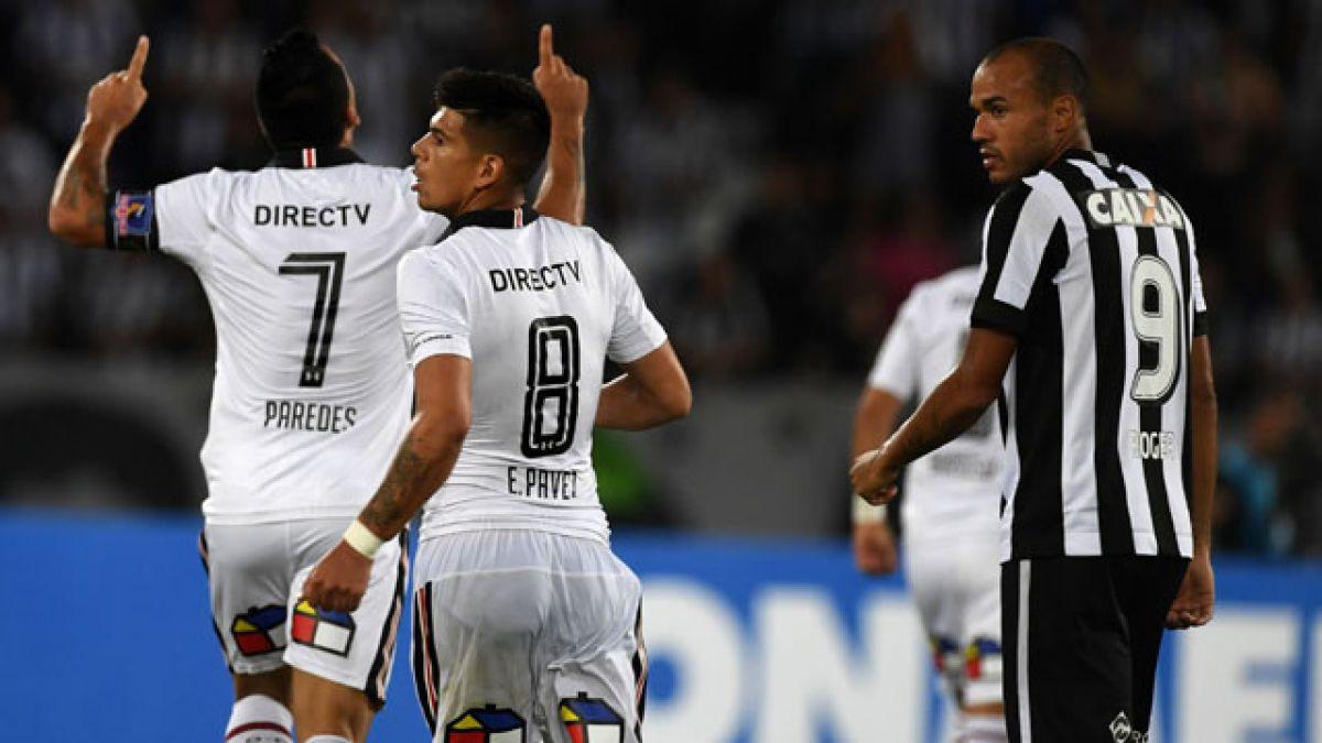 """Paredes queda a un gol de """"Chamaco"""" Valdés como máximo anotador nacional en la Libertadores"""