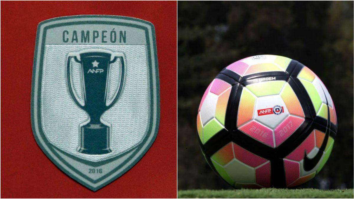 ANFP presenta balón oficial del Clausura y el escudo especial que llevará  el actual campeón ff9dae03ce111