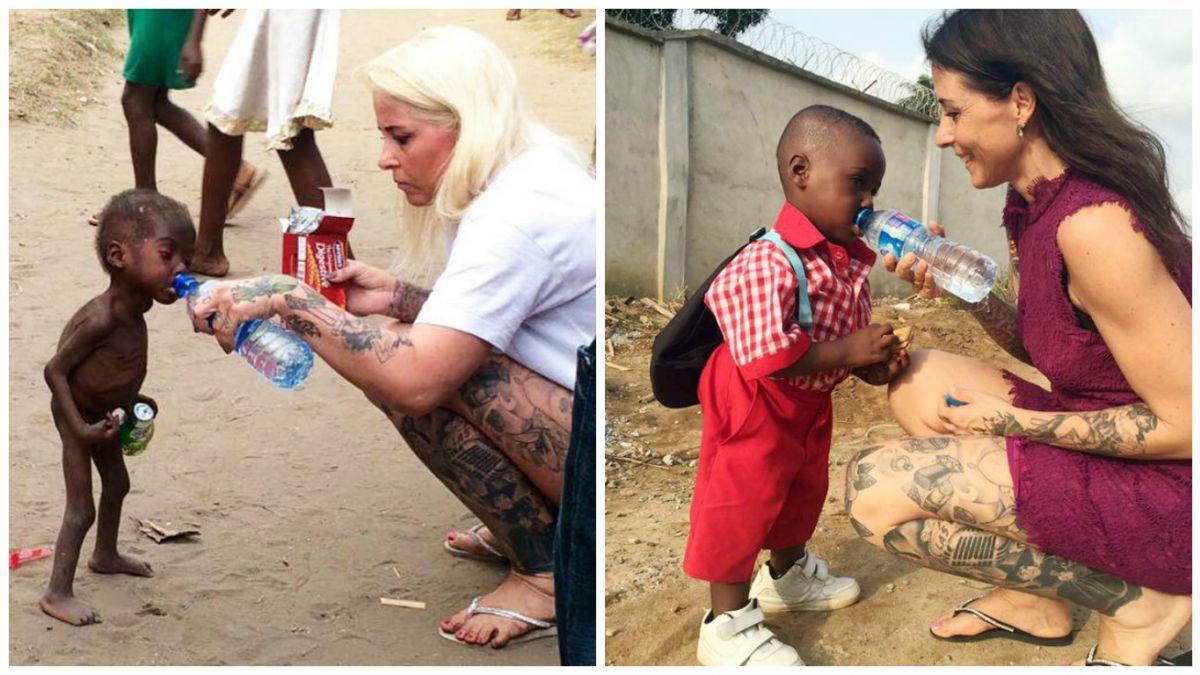 """Así luce hoy Hope, el """"niño brujo"""" rescatado en Nigeria"""