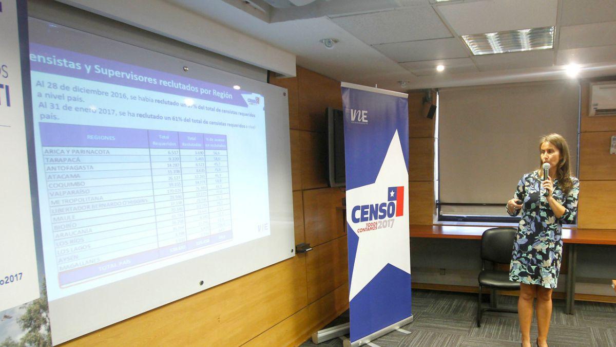 Inscripción de encuestadores apenas supera el 60% a dos meses del Censo 2017