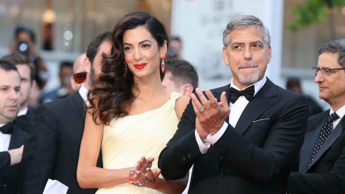 Amal y George Clooney esperan gemelos