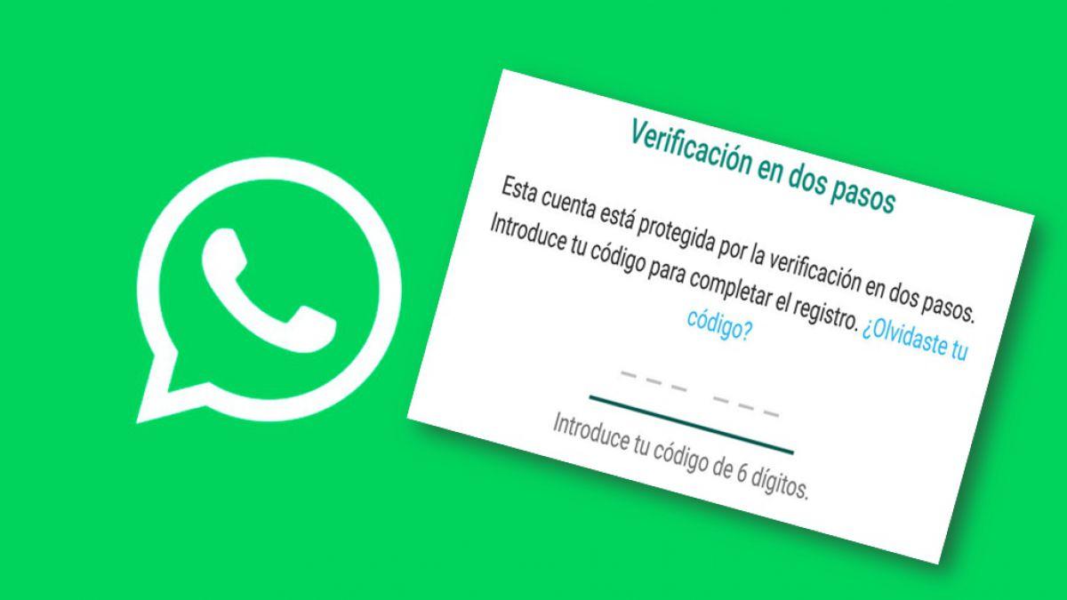 WhatsApp pide activar la nueva verificación de dos pasos ahora ya ...