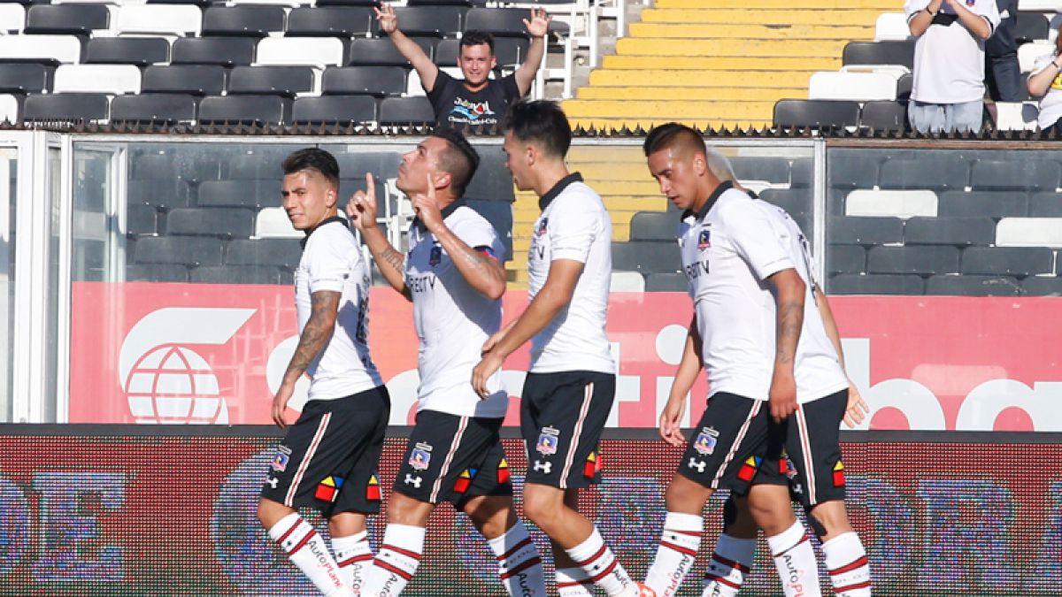 Colo Colo golea a Audax Italiano y se olvida de la eliminación de Copa Libertadores