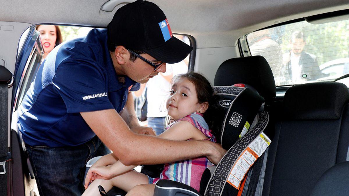 C mo utilizar de forma correcta las sillas infantiles para for Silla para auto 8 anos