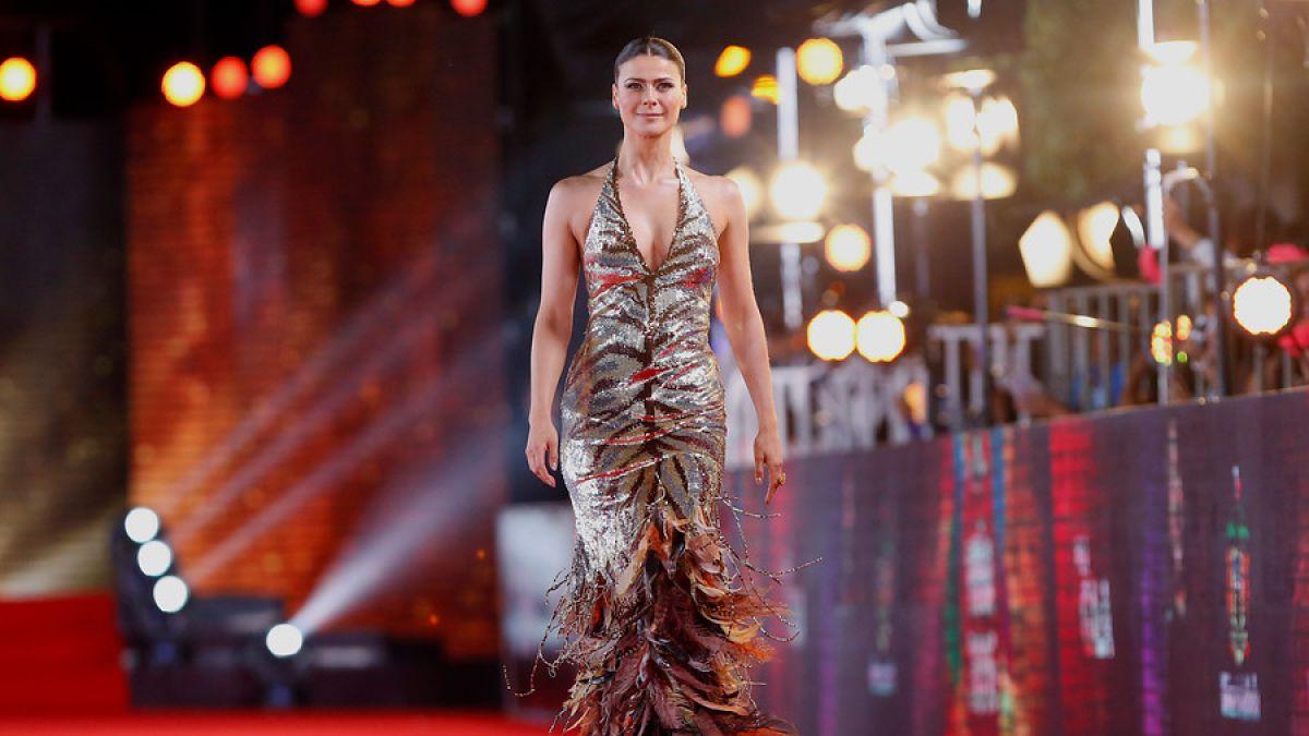 Tonka Tomicic siempre se luce en las galas del Festival de Viña del Mar