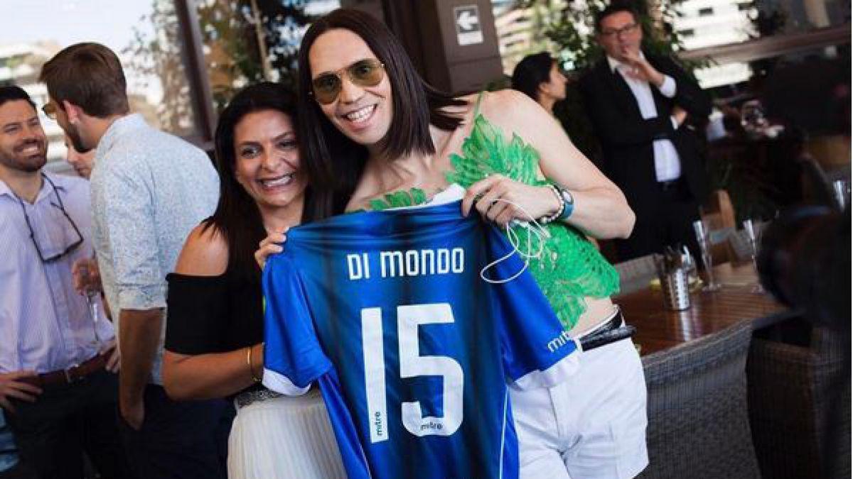 ¿Acerero?: Di Mondo siembra la duda con futbolera publicación en Instagram