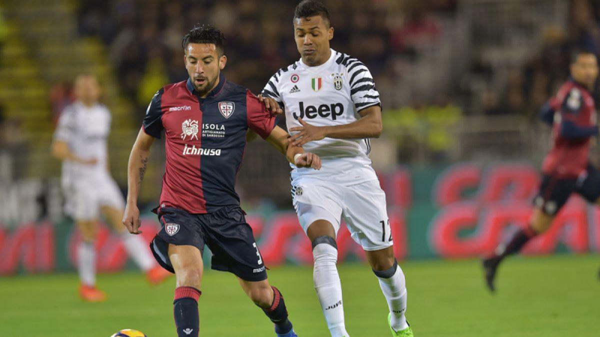 [VIDEO] El gol de Mauricio Isla en el empate de Cagliari frente a Sampdoria