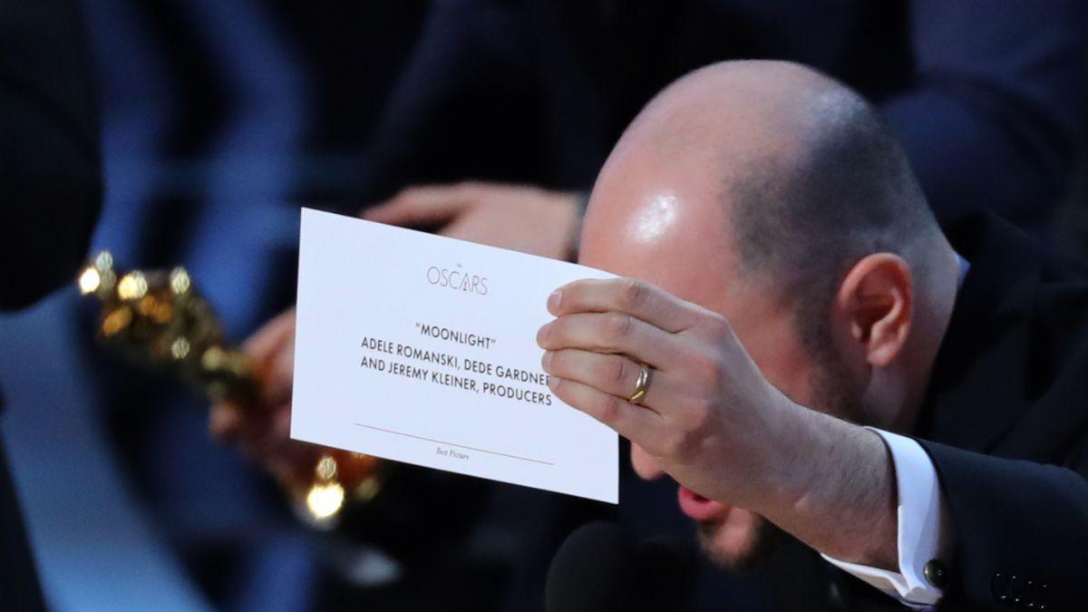 Oscar 2017: error da por ganadora a La la land y no a Moonlight