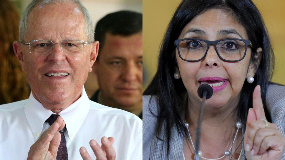 Canciller critica al presidente de Perú — Venezuela