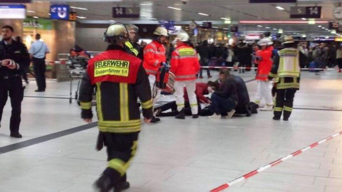 Ataque y miedo en la ciudad alemana de Düsseldorf