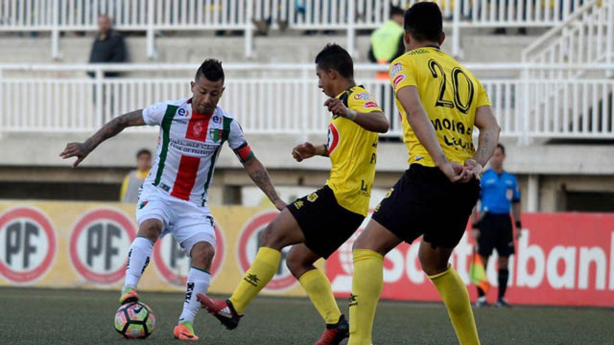 San Luis y Palestino protagonizan vibrante empate en Quillota