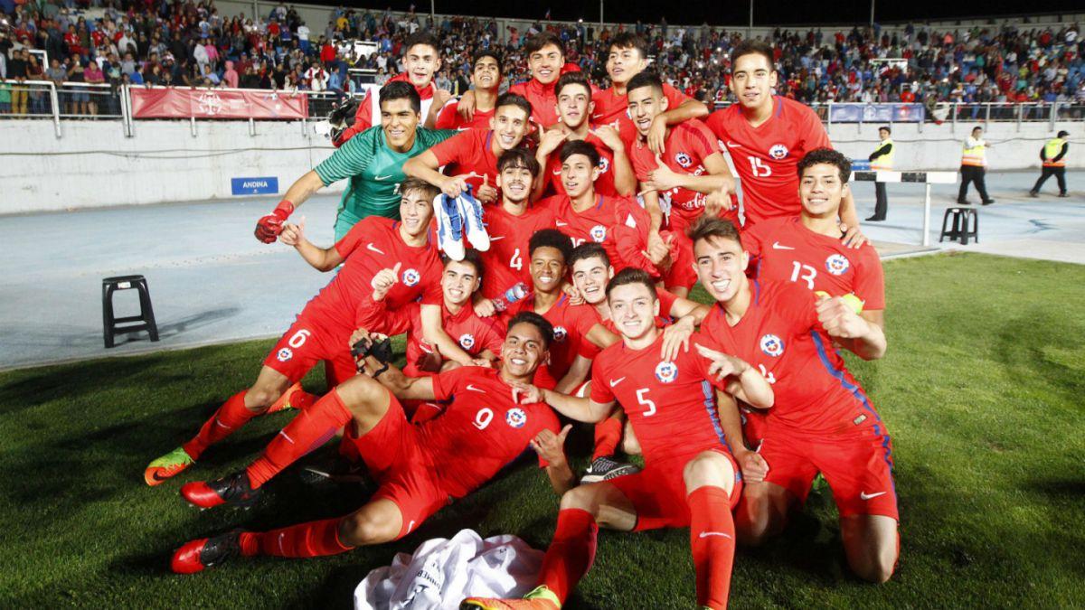 La Roja se enfrenta a Brasil con la ilusión de ganar el título del Sudamericano Sub 17