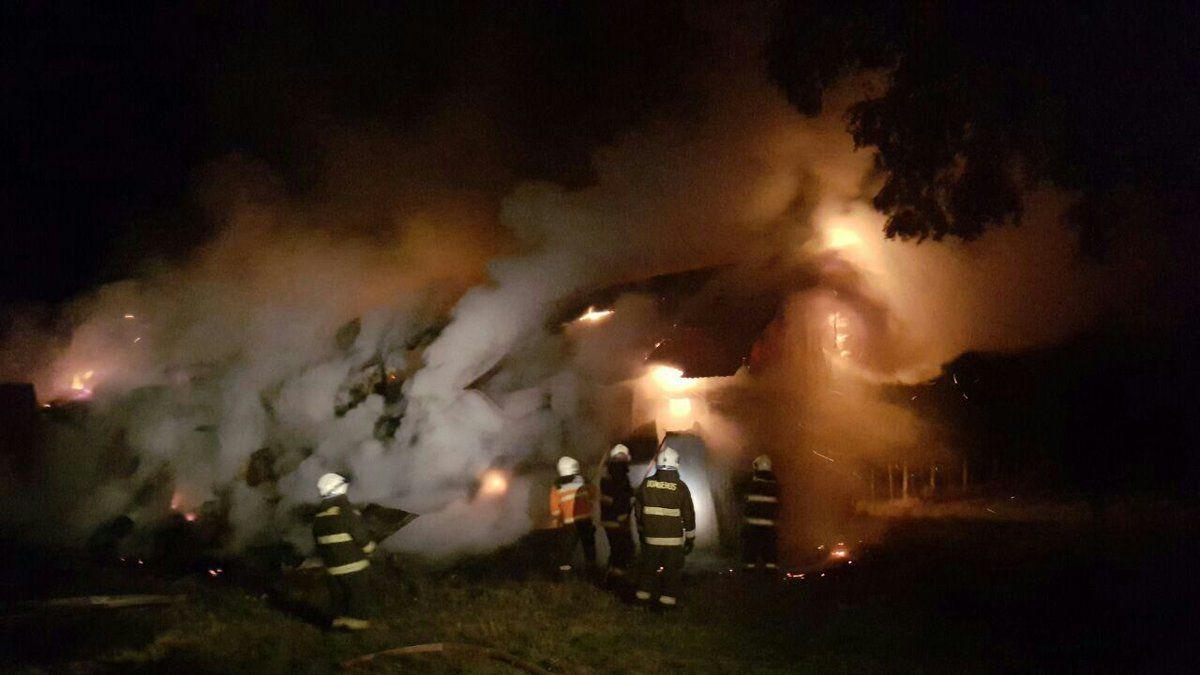 Ataques incendiarios simultáneos se registraron en la Región de La Araucanía