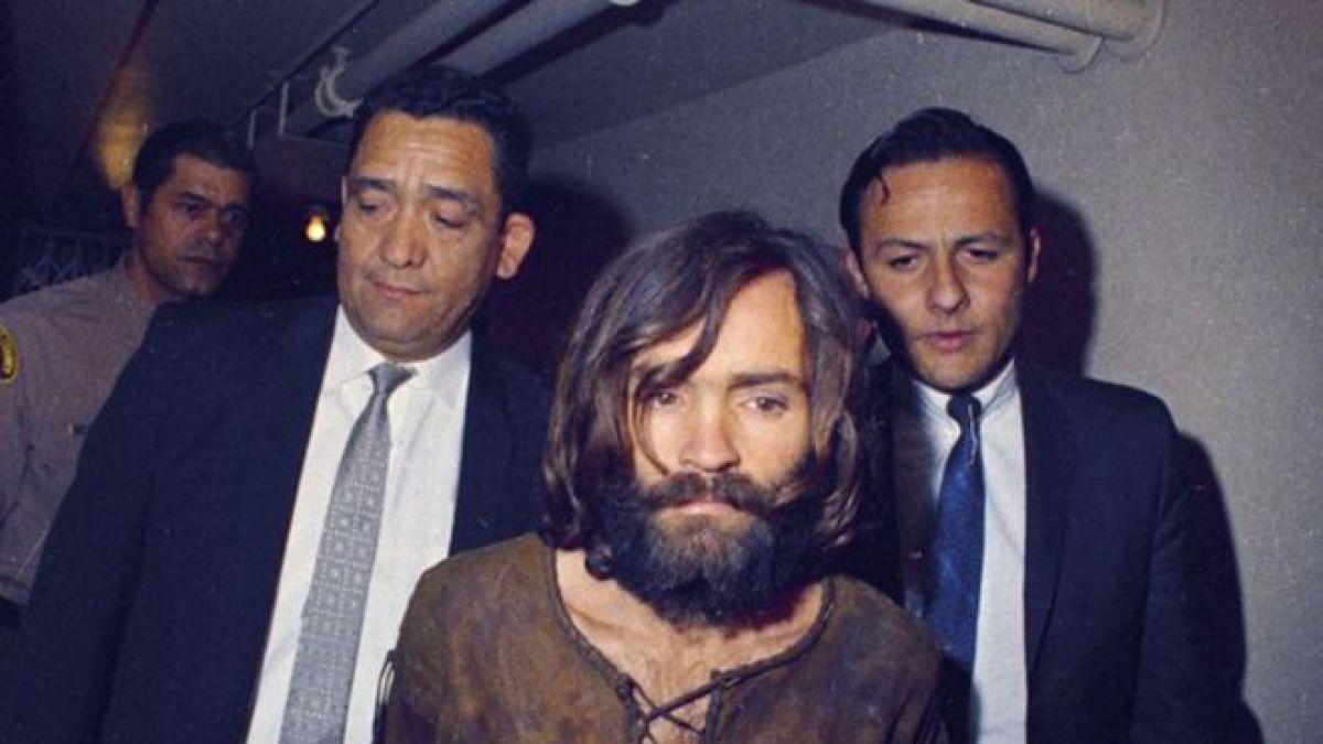 El asesino Charles Manson, en los años 70.
