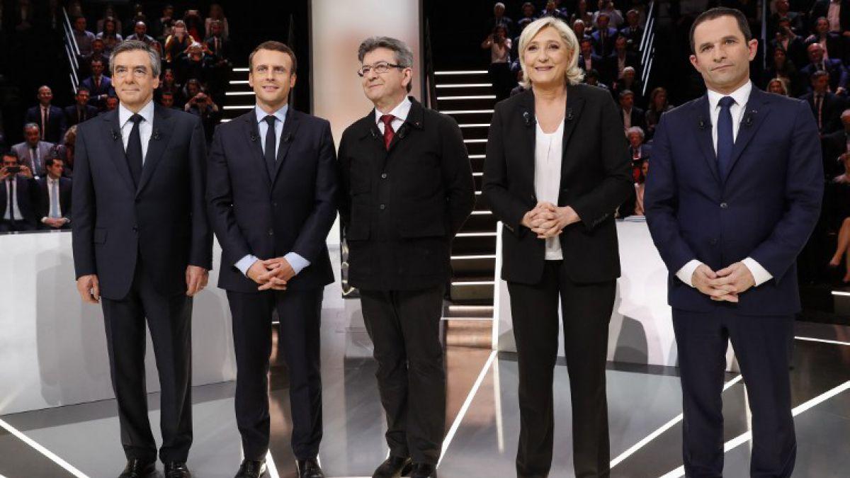 Francia: Le Pen blanco de dardos en acalorado debate a un mes de elecciones presidenciales