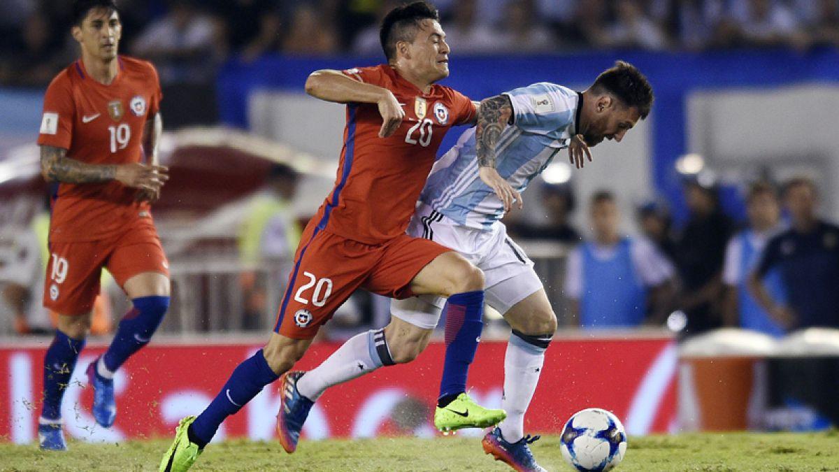 La Roja vs Argentina