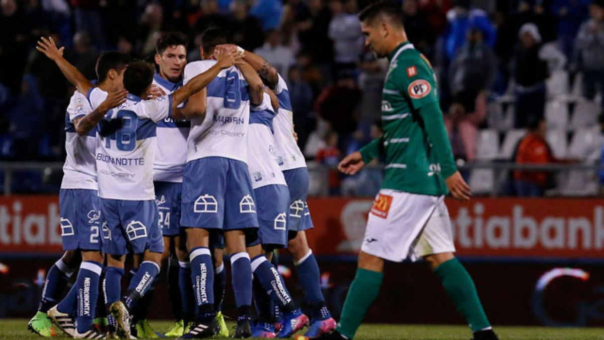 Universidad Católica lo da vuelta y vence a Temuco en San Carlos ... 7d13d7f42bcd6