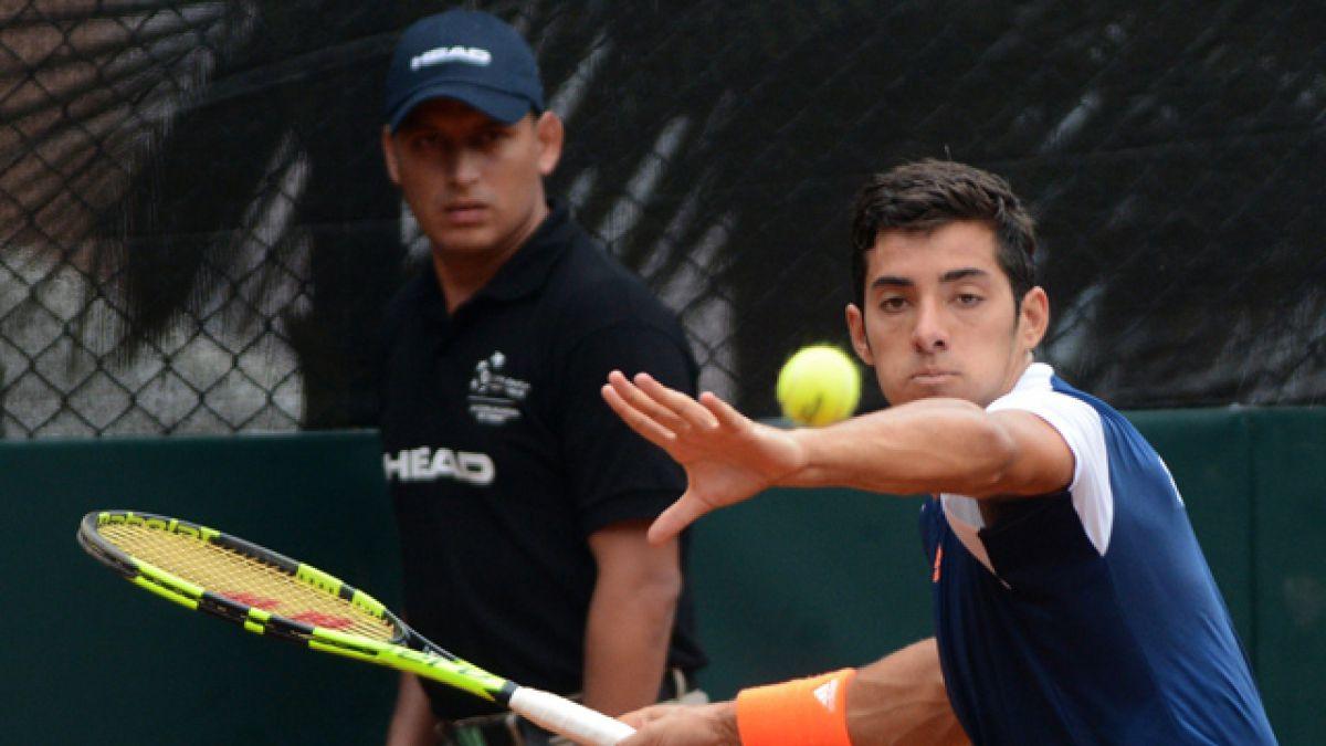 Garín cae ante Giraldo y Chile pierde la serie frente a Colombia en Copa Davis