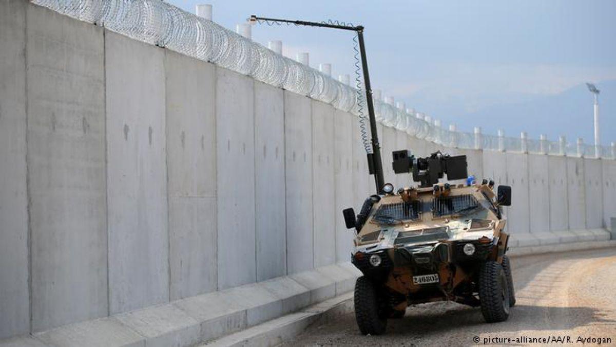 Concluyen construcción del Muro de Erdogan entre Turquía y Siria