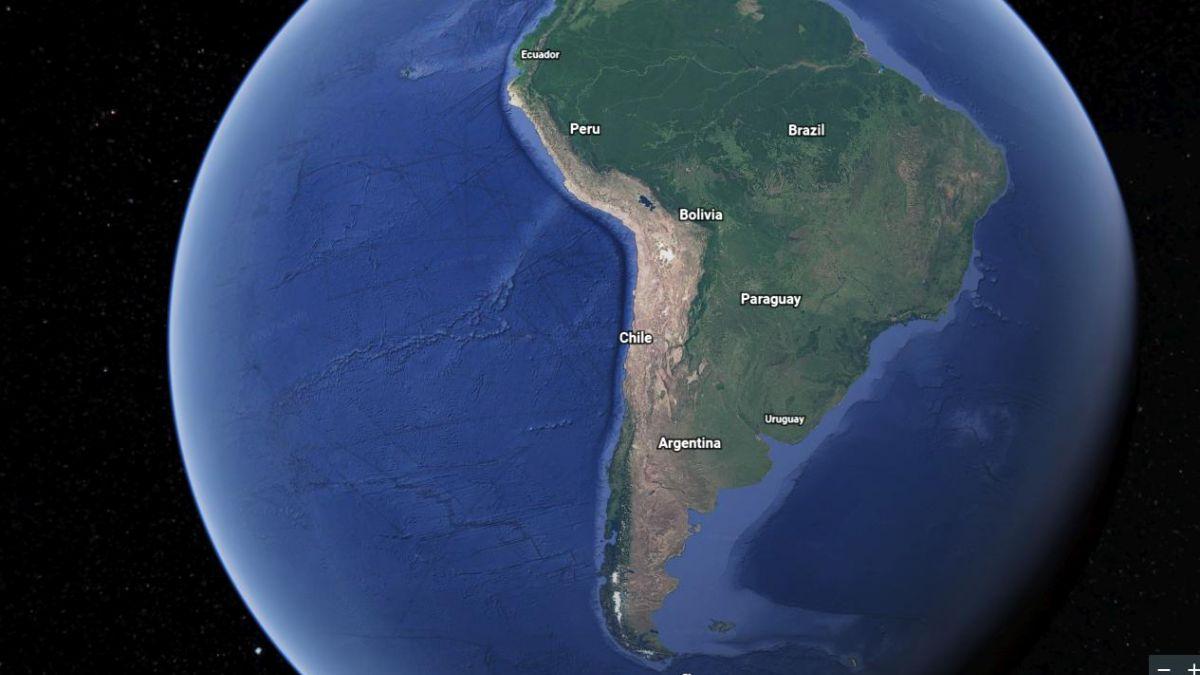 Así es el nuevo Google Earth